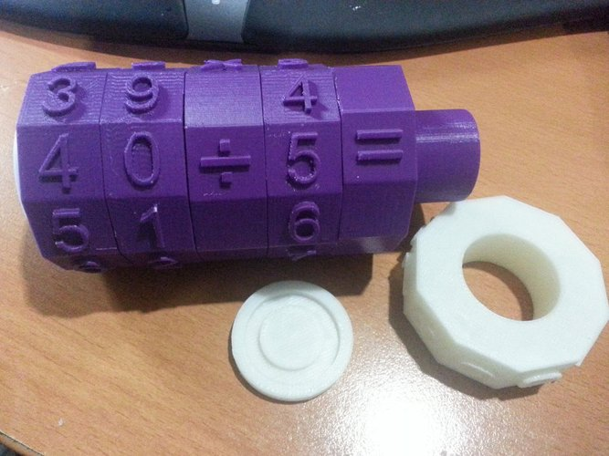 Math Spinner Toy 3D Print 35481