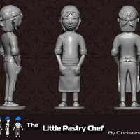 Small The Little Pastry Chef 3D Printing 35491
