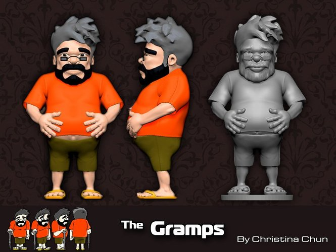The Gramps 3D Print 35495