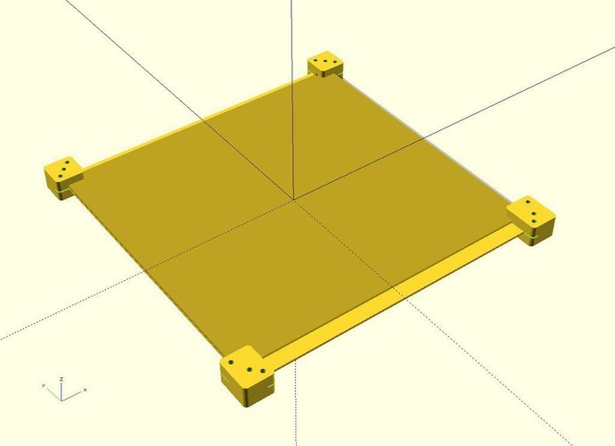 Ekobots - Table Fix and Join for Mendel Prusa. 3D Print 35591