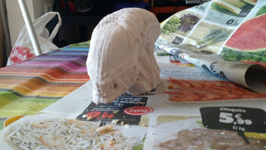 alien head mold 3D Print 35681
