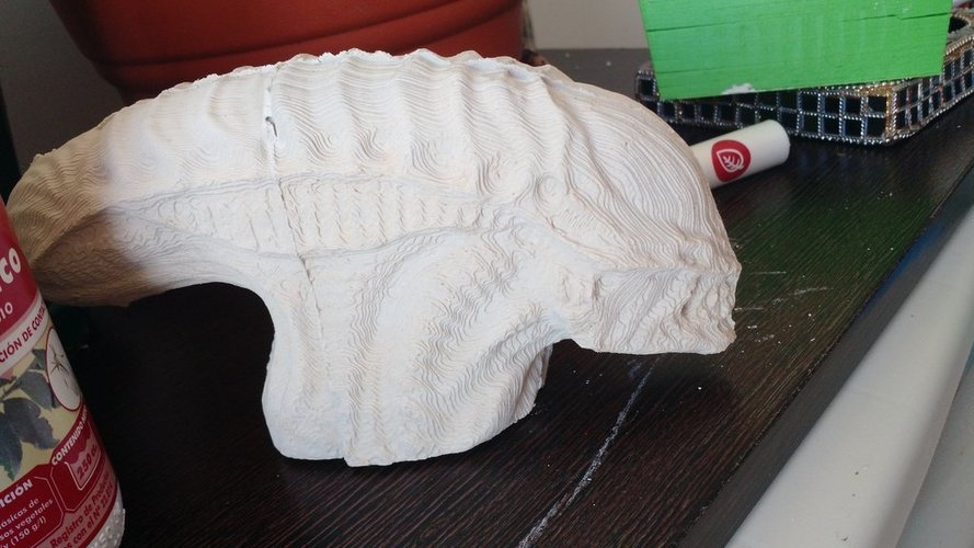 alien head mold 3D Print 35682