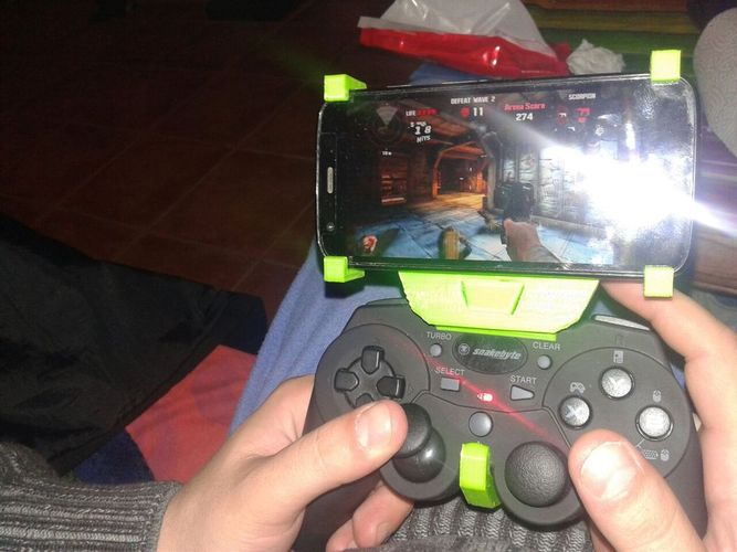 gamepad phone holder 3D Print 35696
