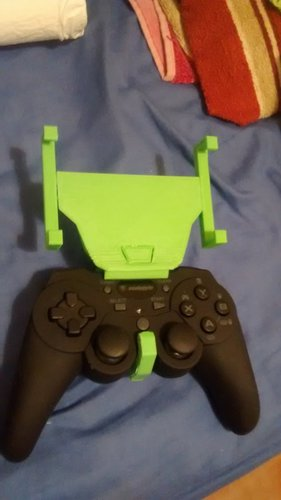 gamepad phone holder 3D Print 35698