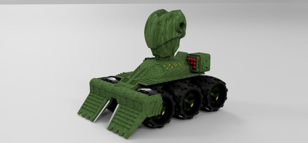 Makertron .....protection and combat unit. 3D Print 35770