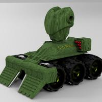 Small Makertron .....protection and combat unit. 3D Printing 35770