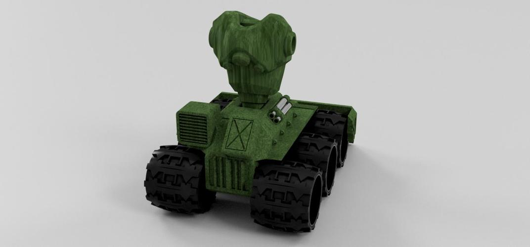 Makertron .....protection and combat unit. 3D Print 35771