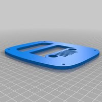 Small Jeep Wrangler cj, yj, tj tail light cover 3D Printing 35812