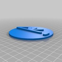 Small Re Badge 3D Printing 35813