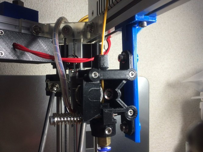 Extruder Mounter for 2020 Aluminum Extrusion Frame 3D Print 35893
