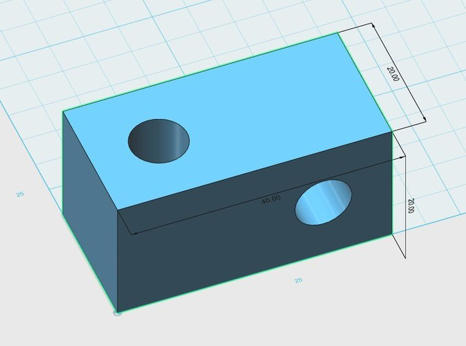 Simple Spool Holder Base Block  3D Print 35987