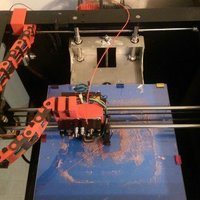 Small Workbench Cable chain guide with mount to Workbench. 3D Printing 36016