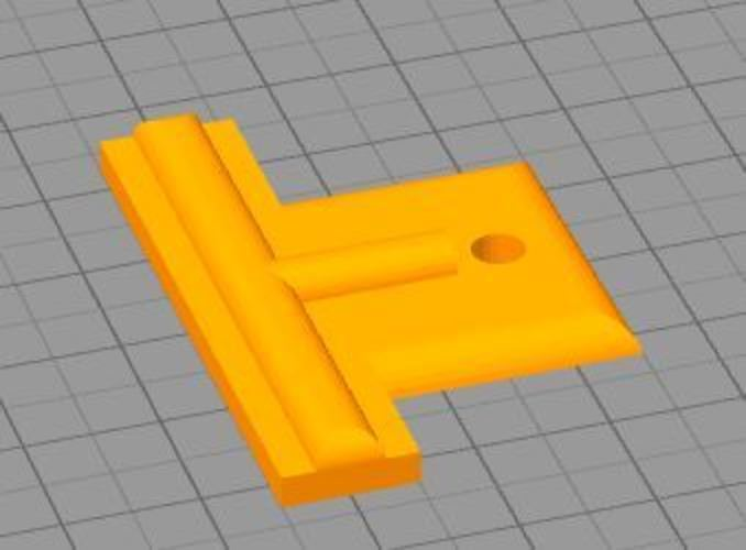 Door Window Screen Clip 3D Print 36028