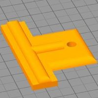 Small Door Window Screen Clip 3D Printing 36028