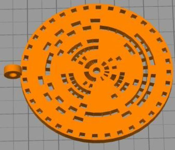 encoder or jewelry ver 1.1 3D Print 36033