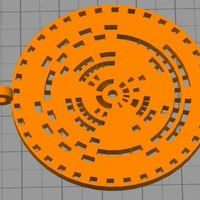 Small encoder disc or Jewelry 3D Printing 36035