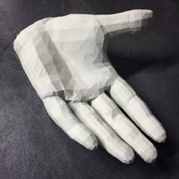 Small Hand Holder 3D Printing 36036