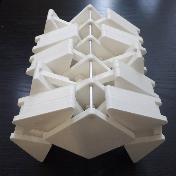 Medium Strandbeest Inspired Walking Machine 3D Printing 36046