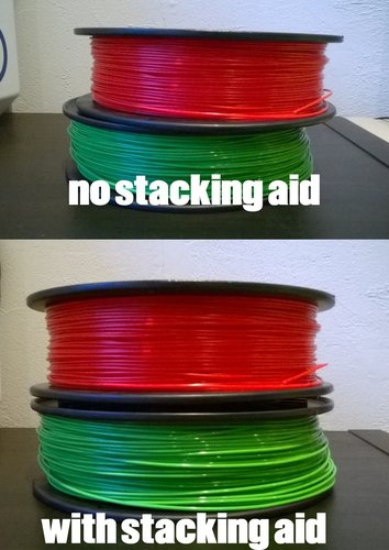stacking aid for filament 3D Print 36069