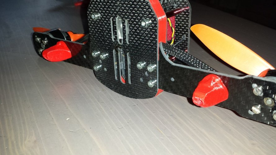 FOOT DRONE RACER  3D Print 36091
