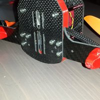 Small FOOT DRONE RACER  3D Printing 36091