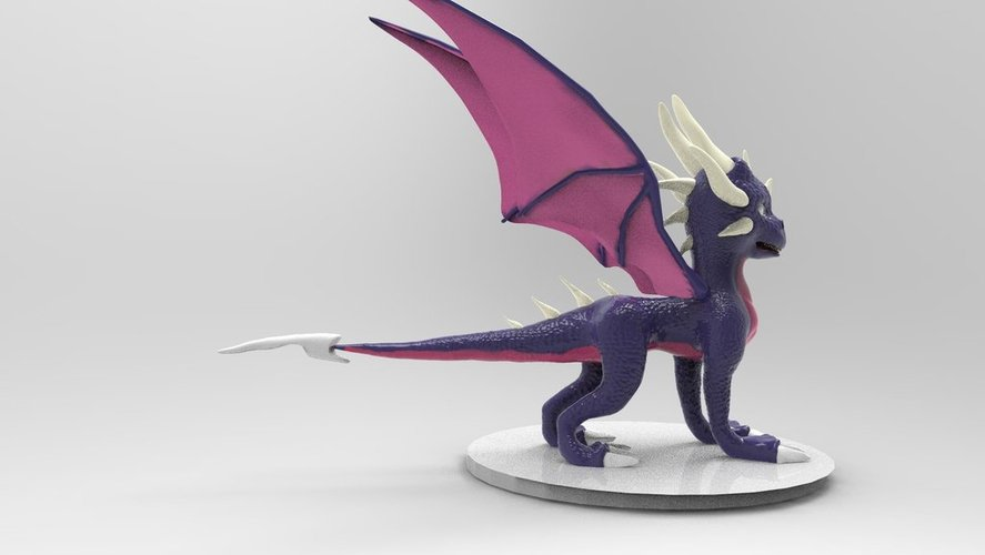 Cynder The Dragon  3D Print 36211
