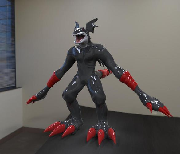 Creature Devil Action Figure Statue 3D Print 36227