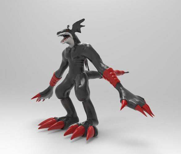 Creature Devil Action Figure Statue 3D Print 36229