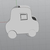 Small SMALL CAR 3D Printing 36270