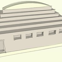 Small room temple 3D Printing 36319