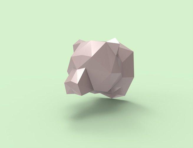 Bear Trophy 3D Print 36347