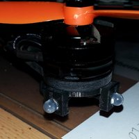 Small Nighthawk 250 LED Motor Mount 3D Printing 36366