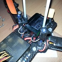 Small Nighthawk 250 Antenna Mount 3D Printing 36369