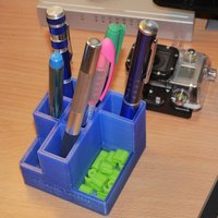 Small Pen box 3D Printing 36376