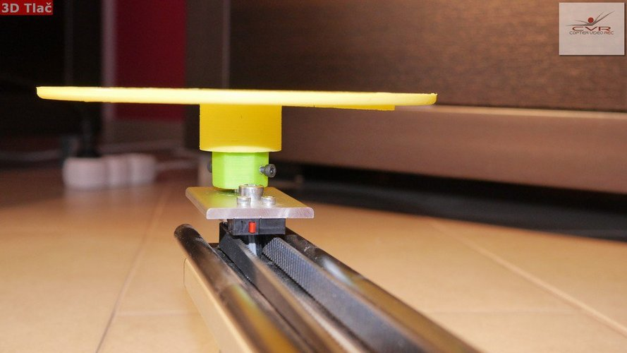 Motorized Slider Upgrade- (rotary table) 3D Print 36379