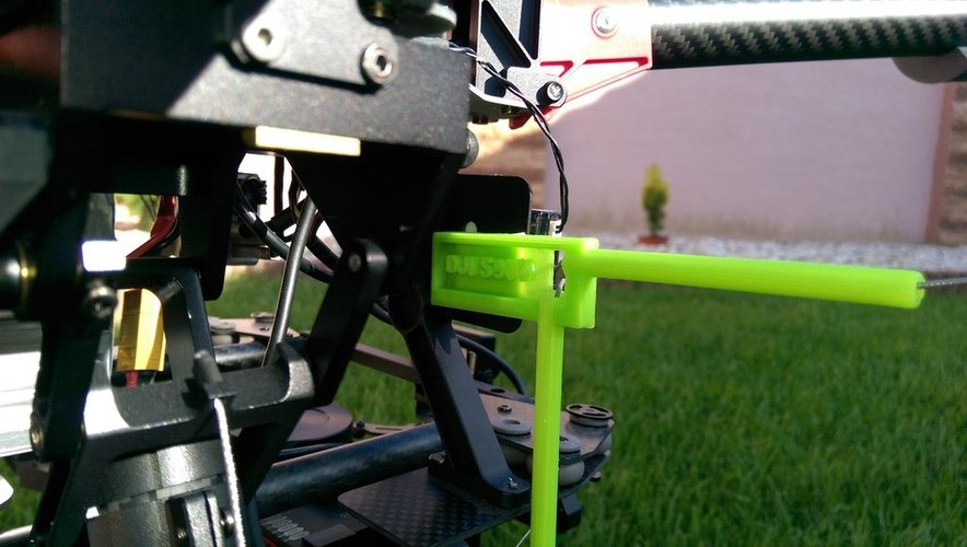 Antenna holder for DJI S900,S1000 3D Print 36412