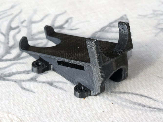 RunCam HD 20° mount for RD290 mini hex 3D Print 36428