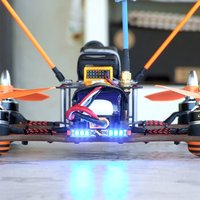 Small VDQ250 tail led bar holder  3D Printing 36444