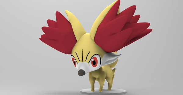 Medium Pokèmon Action Figure Statue  3D Printing 36588