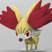Small Pokèmon Action Figure Statue  3D Printing 36588