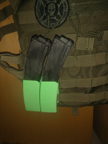 H&K MP5 Magazine holster 3D Print 36597