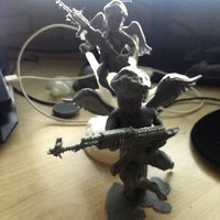 Small Cupid mercenarie 3D Printing 36644