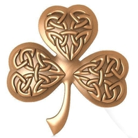 Small Celtic clover ornament CNC 3D Printing 370691