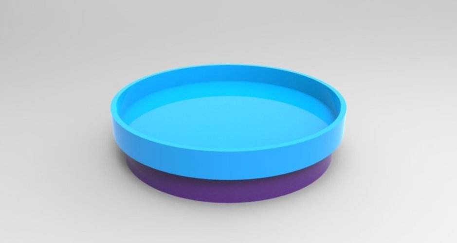 simple lazy susan 3D Print 37121