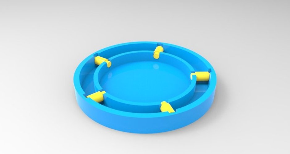 simple lazy susan 3D Print 37123