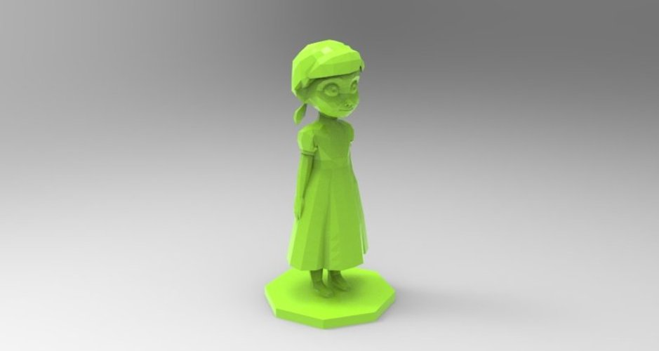 young anna from frozen 3D Print 37147