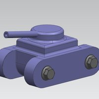 Small Risiko ARmed dear 3D Printing 37212