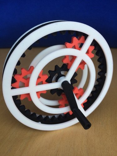 Planetary Gear Toy 3D Print 37226