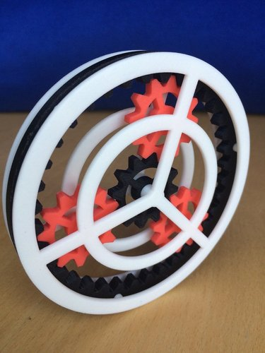 Planetary Gear Toy 3D Print 37227