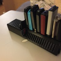 Small My Customized USB stick and SD card holder 3D Printing 37265